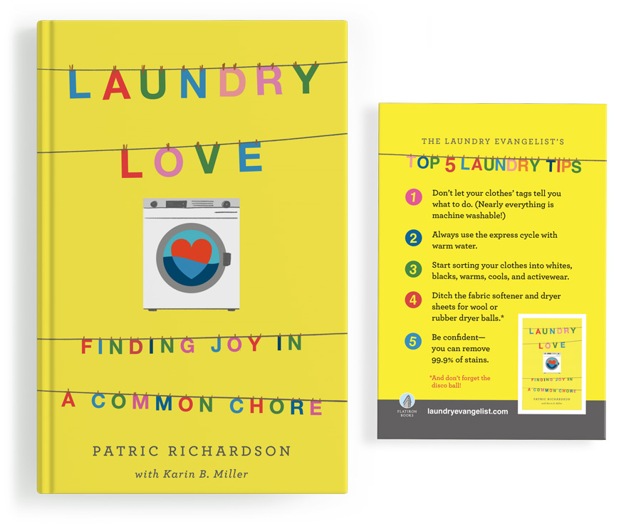 Laundry Love by Patric Richardson with Karin Miller