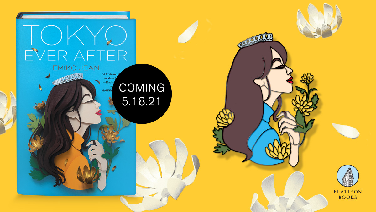 Tokyo Ever After book and exclusive enamel pin