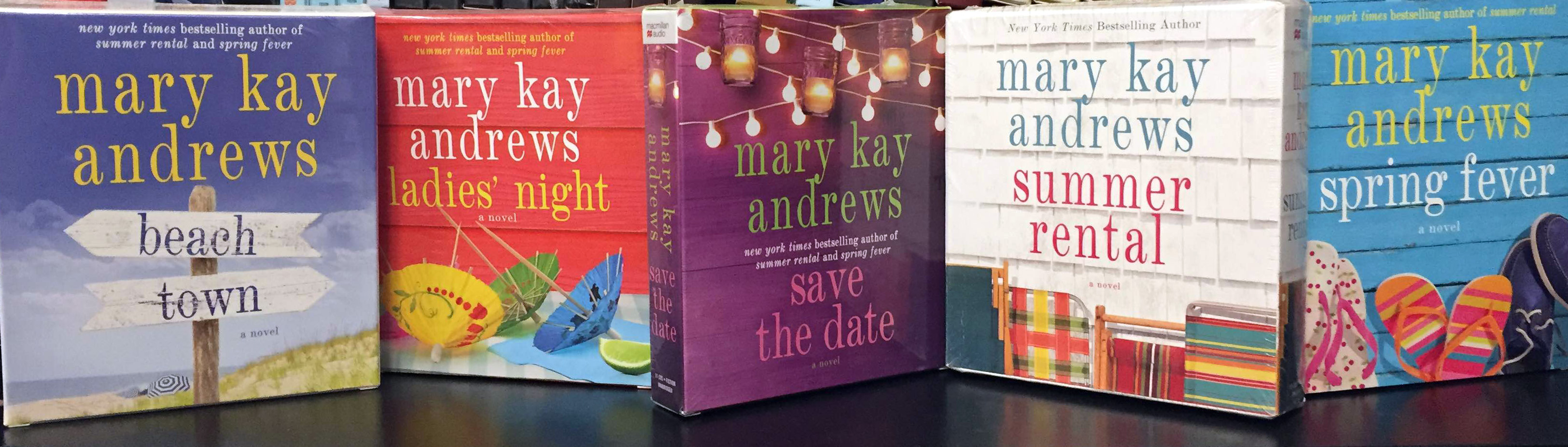 Mary Kay Andrews Backlist