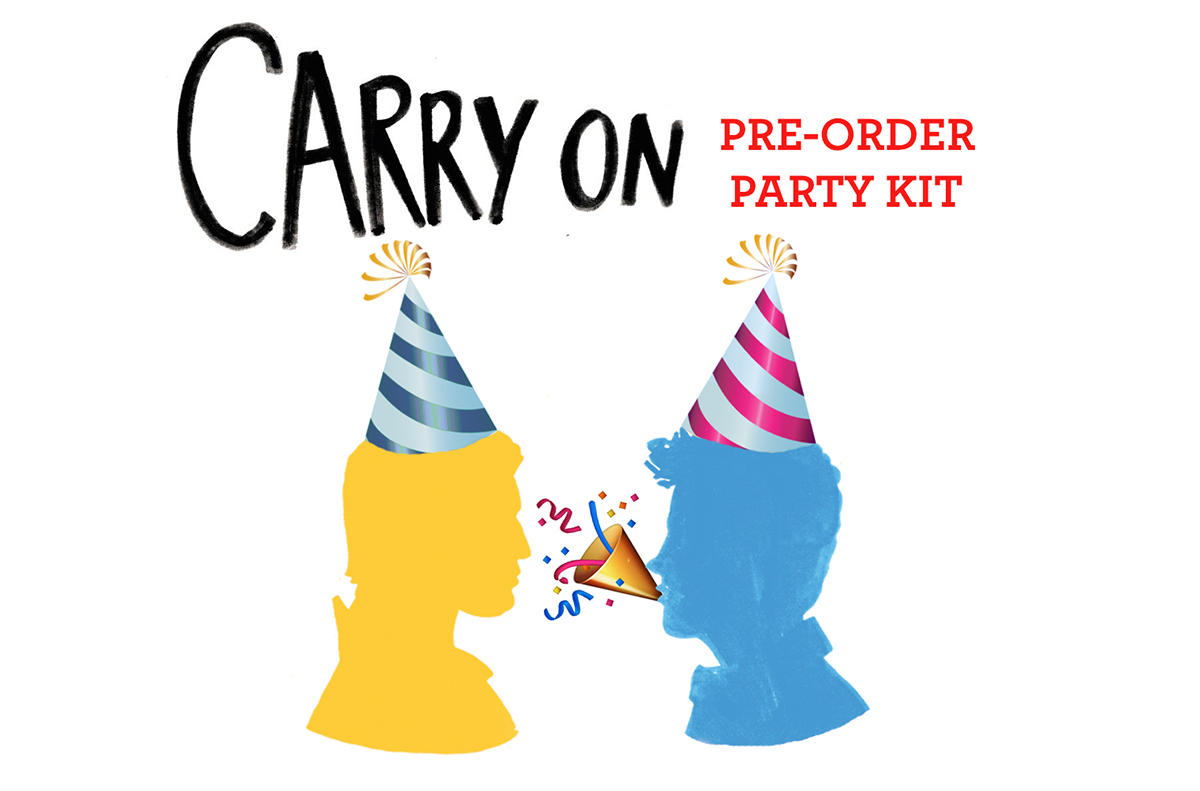 <em>Carry On by Rainbow Rowell</em>