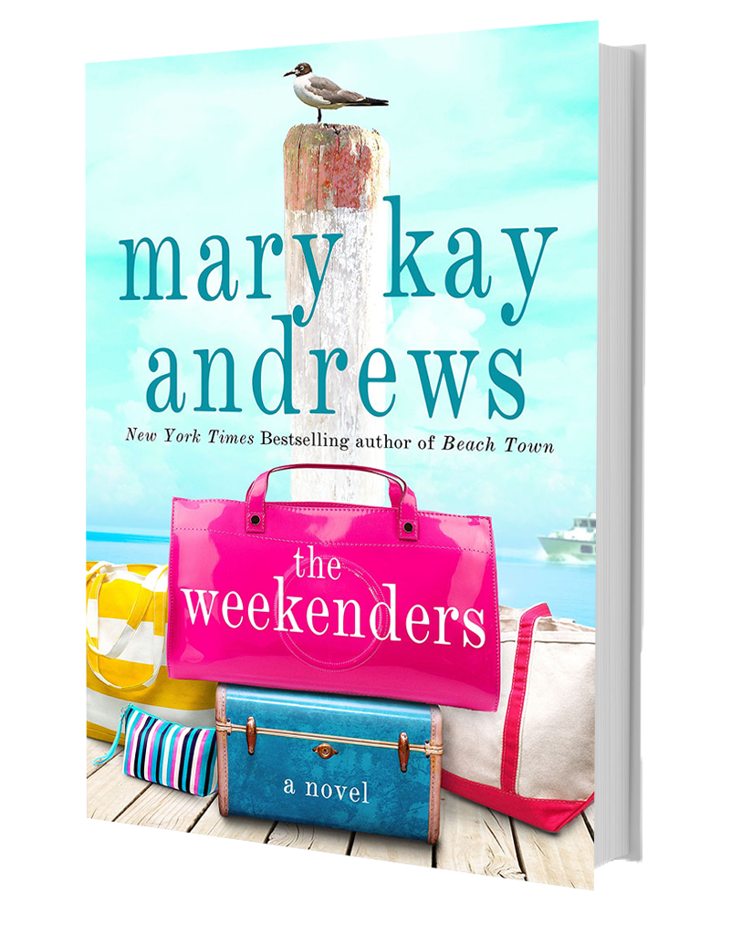 Beach Town by Mary Kay Andrews with Sunglasses