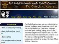 Wheel of Time 2010 special edition newsletter