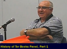 History of Tor Books Panel, part 1
