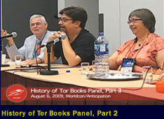 History of Tor Books Panel, part 2